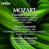 Mozart: Concertos for Clarinet, Oboe & Bassoon von Various Artists