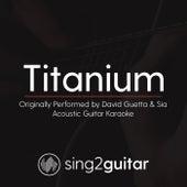 Titanium (Originally Performed By David Guetta & Sia) [Acoustic Karaoke Version] de Sing2Guitar