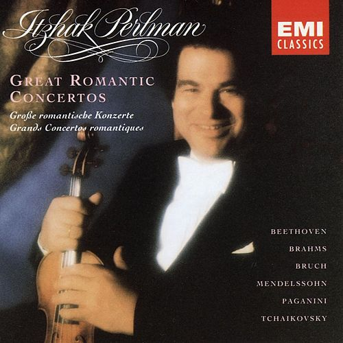 Itzhak Perlman Edition II - Great Romantic Concertos by Various Artists