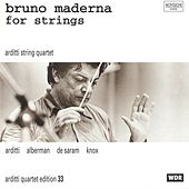 Bruno Maderna for String by Arditti String Quartet