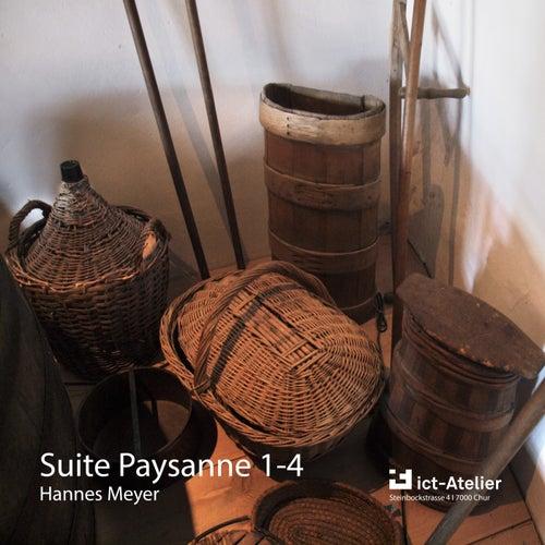Suite Paysanne 1 - 4 (Themen und Variationen) by Hannes Meyer