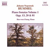 Piano Sonatas Opp. 13, 20 and 81 by Johann Nepomuk Hummel