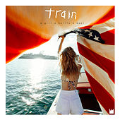 A Girl A Bottle A Boat by Train