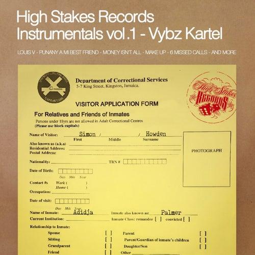 High Stakes Records Instrumentals, Vol. 1 by VYBZ Kartel