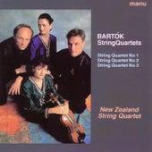 Bartók: String Quartets Nos. 1 - 3 by New Zealand String Quartet