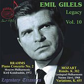 Emil Gilels Legacy, Vol. 10: Brahms Piano Concerto No. 2 by Emil Gilels