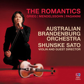 The Romantics: Grieg - Mendelssohn - Paganini de Australian Brandenburg Orchestra