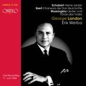 Schubert: Heine-Lieder - Ibert: Chansons de Don Quichitte - Mussorgsky: Lieder und Tanze des Todes by Various Artists