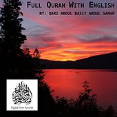Full Quran with English by Abdul Basit Abdul Samad
