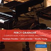 Percy Grainger: Complete Music for Four Hands, Two Pianos by Various Artists