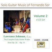 Solo Guitar Music of Fernando Sor Volume 2 by Lawrence Johnson