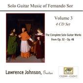 Solo Guitar Music of Fernando Sor Volume 3 by Lawrence Johnson