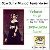 Solo Guitar Music of Fernando Sor Volume 1 by Lawrence Johnson