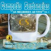 Campeãs Sertanejas: As Melhores Ao Vivo Vol.2 de Various Artists