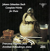 J.S. Bach: Complete Works for Flute von Francesca Pagnini