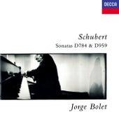 Schubert: Piano Sonatas Nos. 14 & 20 by Jorge Bolet