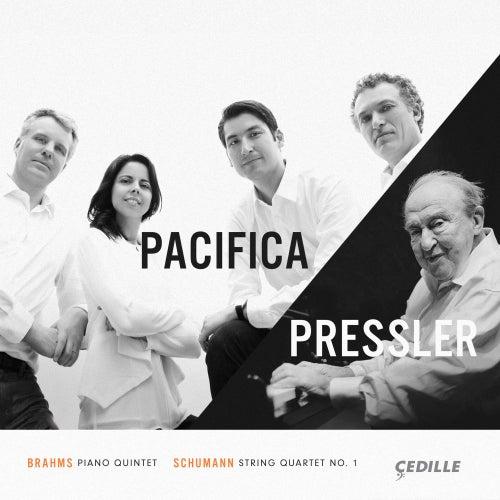 Brahms: Piano Quintet, Op. 34 - R. Schumann: String Quartet, Op. 41 No. 1 by Pacifica Quartet