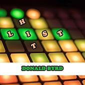 Hit List by Donald Byrd
