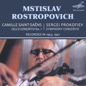 Saint-Saëns: Cello Concerto No. 1 - Prokofiev: Symphony-Concerto de Mstislav Rostropovich