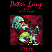 Peter Lang Live At Charlotte's Web by Peter Lang