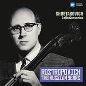 Shostakovich: Cello Concertos Nos 1 & 2 (The Russian Years) by Mstislav Rostropovich