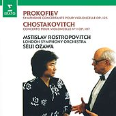 Prokofiev: Sinfonia concertante - Shostakovich: Cello Concerto No. 1 by Mstislav Rostropovich