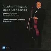 Gagneux: Tryptique - Shchedrin: Sotto voce by Mstislav Rostropovich
