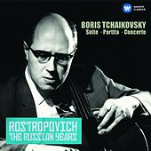 Tchaikovsky, Boris: Cello Concerto, Suite & Partita (The Russian Years) de Mstislav Rostropovich