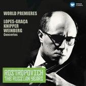 Lopes-Graça, Knipper & Weinberg: Cello Concertos (The Russian Years) de Mstislav Rostropovich