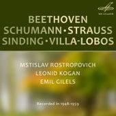 Beethoven, Schumann, Strauss, Sinding, Villa-Lobos: Chamber Music de Various Artists