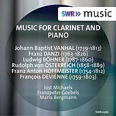 Music for Clarinet & Piano von Various Artists