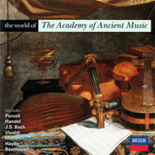 The World of The Academy of Ancient Music von Various Artists