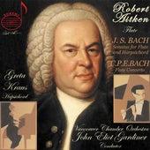 J.S. Bach: Flute Sonatas - C.P.E. Bach: Flute Concerto von Robert Aitken