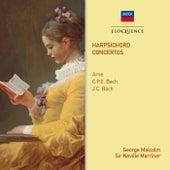 Arne, C.P.E. Bach & J.C. Bach: Harpsichord Concertos von Various Artists