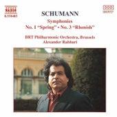 Symphonies No. 1 and 3 de Robert Schumann