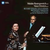 Beethoven: Cello Variations - Strauss, Richard: Cello Sonata de Mstislav Rostropovich