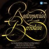 Schumann: Cello Concerto - Bloch: Schelomo by Mstislav Rostropovich
