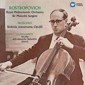 Prokofiev: Prokofiev: Sinfonia concertante - Rachmaninov: Vocalise by Mstislav Rostropovich