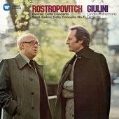 Dvorák: Cello Concerto - Saint-Saëns: Cello Concerto No. 1 de Mstislav Rostropovich