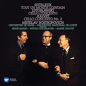 Dutilleux: Tout un monde lointain - Lutoslawski: Cello Concerto - Jolivet: Cello Concerto No. 2 de Mstislav Rostropovich