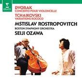 Dvorák: Cello Concerto - Tchaikovsky: Variations on a Rococo theme de Mstislav Rostropovich