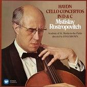 Haydn: Cello Concertos Nos 1 & 2 by Mstislav Rostropovich