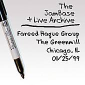 01-25-99 - Greenmill - Chicago, IL by Fareed Haque Group