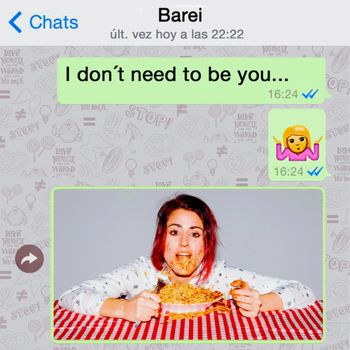 I Don´t Need to Be You de Barei