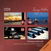 Hintergrundmusik, Vol. 9 - 12 (4 Alben) - Gemafreie Musik für Hotels & Restaurants [inkl. Entspannungsmusik mit Piano] by Ronny Matthes