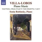 VILLA-LOBOS, H.: Piano Music, Vol. 8 (Rubinsky) - Guia pratico, Book 10, 11 / Suites infantil Nos. 1, 2 / Guia pratico, Vol. 1 (excerpts) von Sonia Rubinsky