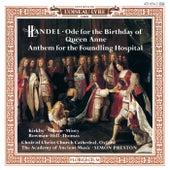 Handel: Queen Anne Birthday Ode; Foundling Hospital Anthem / Haydn: Missa Brevis de Various Artists