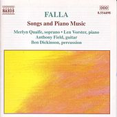 Songs and Piano Music by Manuel de Falla