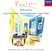 Poulenc: Mélodies Vol. 1 de Pascal Rogé