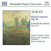 Complete Works for Piano and Orchestra by Charles-Valentin Alkan